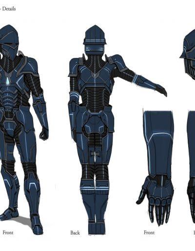 Armor Design Turnaround Details
